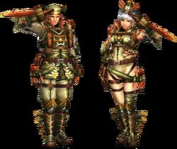 FrontierGen-Abio Armor (Blademaster) Render 2