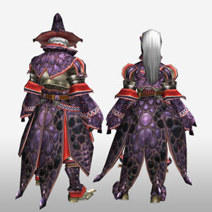 FrontierGen-Wadatsumi Armor (Blademaster) (Back) Render