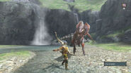 MH3U Great Jaggi vs hunter