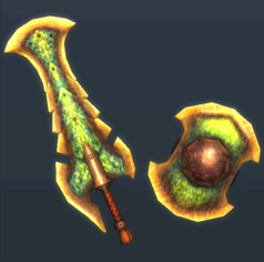 MH3U-Sword and Shield Render 013