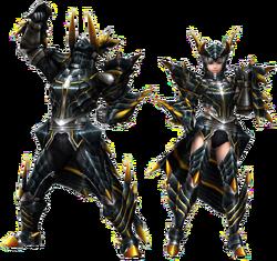 FrontierGen-Meragi Armor (Blademaster) Render 2