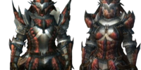 Rathalos S Armor (Blademaster) (MH3U)
