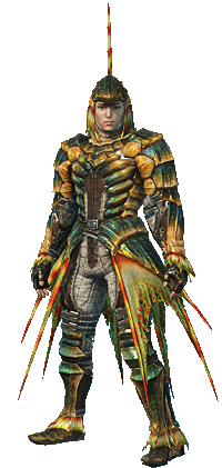 File:MHO-Plesioth Armor (Blademaster) (Male) Render 001.png