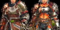Hunter's S Armor (Blademaster) (MHFU)