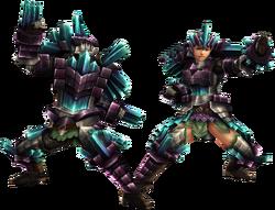 FrontierGen-Kuaru Armor (Blademaster) Render 2