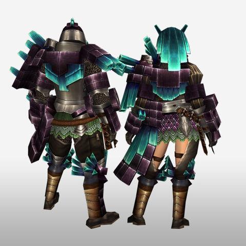 File:FrontierGen-Kuaru Armor (Gunner) (Back) Render.jpg