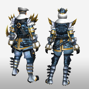 FrontierGen-Sabeji G Armor (Blademaster) (Back) Render