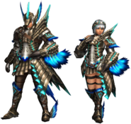 FrontierGen-Shourou G Armor (Gunner) Render 2