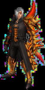 FrontierGen-Espinsu G Armor (Male) (Gunner) Render 001