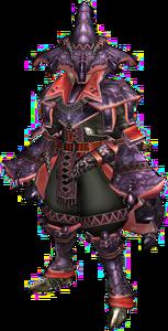 FrontierGen-Mizuha G Armor (Blademaster) (Male) Render 001