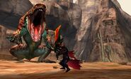MH4U-Tigerstripe Zamtrios Screenshot 006