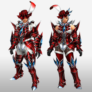 FrontierGen-Akura U Armor 003 (Blademaster) (Front) Render