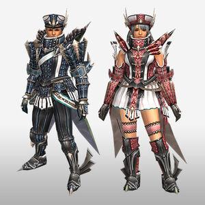 FrontierGen-Riodeyuo Armor (Both) (Front) Render