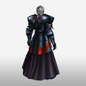 FrontierGen-Hero King Armor 001 (Male) (Both) (Back) Render