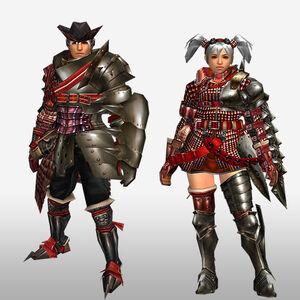FrontierGen-Iosu G Armor (Gunner) (Front) Render