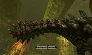 MH4U-Black Gravios Tail Break 001