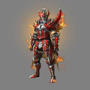 MHXR-Sorufurea Armor (Blademaster) (Male) Render 001