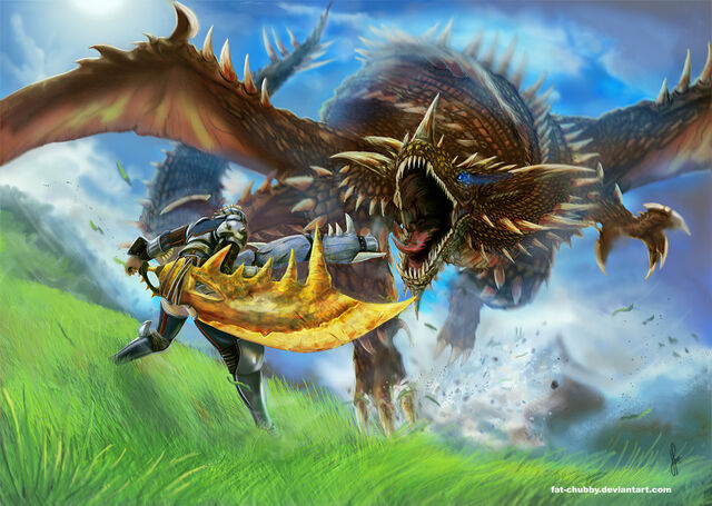 File:Monster Hunter Hunting time by fat chubby.jpg