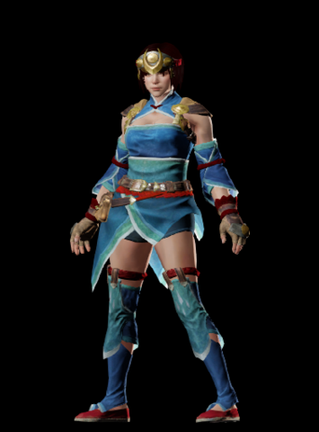 File:MHO-Dawnwind Armor (Both) (Female) Render 001.png