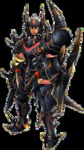 FrontierGen-Akamuto G Armor (Gunner) (Male) Render 001