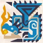 File:MH3G-Azure Rathalos Icon.png
