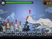 MH4U-Khezu and Palico Minigame Screenshot