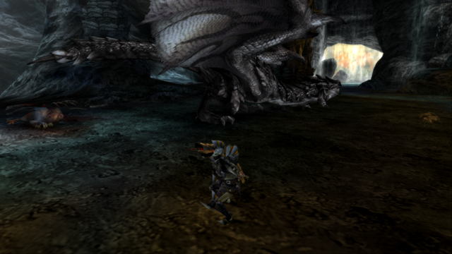 File:MHP3-Silver Rathalos Screenshot 002.png