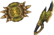 MHP3-Sword and Shield Render 007