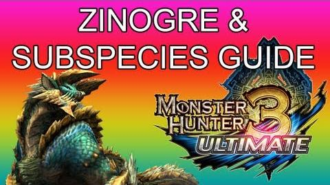 Monster Hunter 3 Ultimate - G2★ Zinogre & Stygian guide ジンオウガ亜種-0