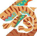 MH10th-Tigerstripe Zamtrios Icon
