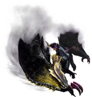 MH4U-Chaotic Gore Magala Render 001