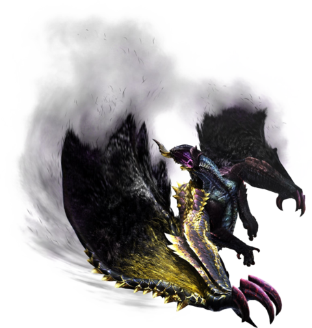 File:MH4U-Chaotic Gore Magala Render 001.png