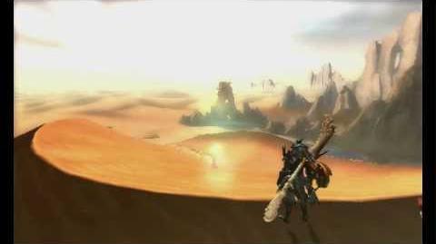 3DS『モンスターハンター4G』 制作決定発表映像