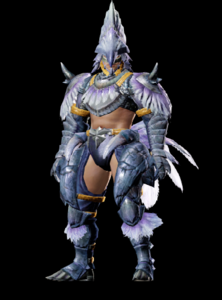MHO-Silver Hypno Armor (Blademaster) (Male) Render 001