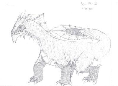 Apalala- Dragon monster creation 001