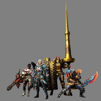 MH4-Lead Hunters Render 001
