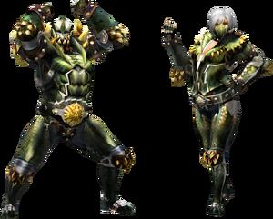 FrontierGen-Vangis Armor (Blademaster) (Both) Render 2
