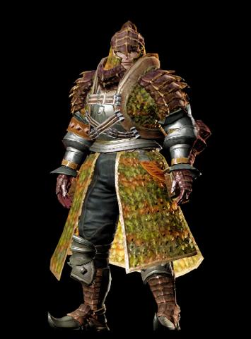 File:MHO-Gendrome Armor (Blademaster) (Male) Render 001.png