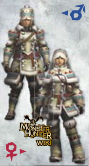 MH3U Lagombi Armor (Blade)