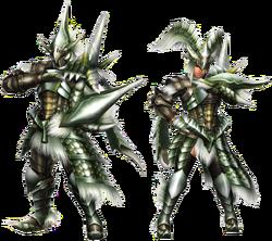 FrontierGen-Emitto Armor (Gunner) Render 2