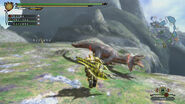 MH3U Great Jaggi vs hunter 6