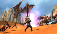 MH4U-Pink Rathian Screenshot 007