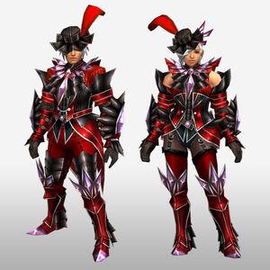 FrontierGen-Akura Armor 003 (Blademaster) (Front) Render