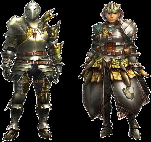 File:MH4U-EX Rathian Armor (Blademaster) Render 001.png
