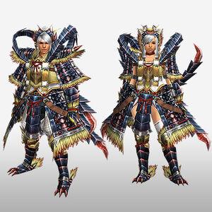 FrontierGen-Faruko Armor (Both) (Front) Render