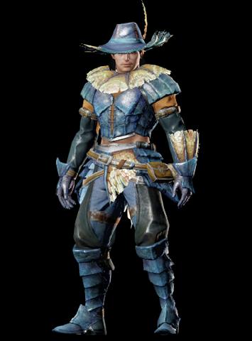 File:MHO-Blue Kut-Ku Armor (Gunner) (Male) Render 001.png