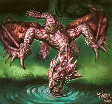 Pink Rathian Art