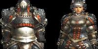 Gypceros Armor (Blademaster) (MH4U)