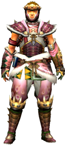 File:MHXR-Hidari Sakura Armor (Both) (Male) Render 001.png