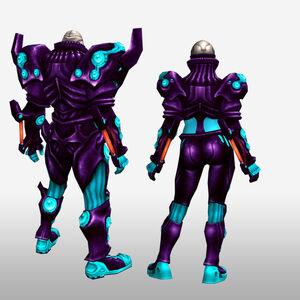 FrontierGen-Genome Armor 009 (Both) (Back) Render